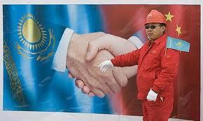 kazak çin işbirliği