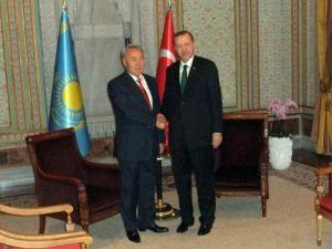 erdoğan nazarbayev ile