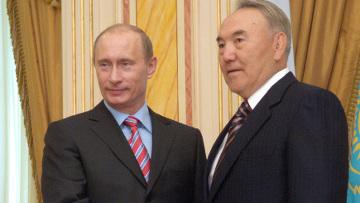 nazarbayev ve putin