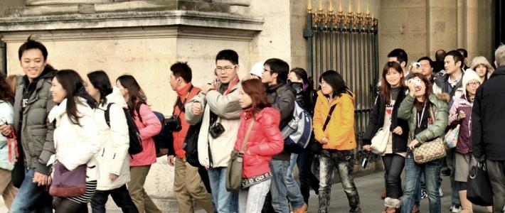 cinli turistler