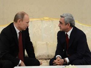 Putin Sarkisyanı dəstəklədi: