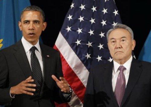 nazarbayev obama