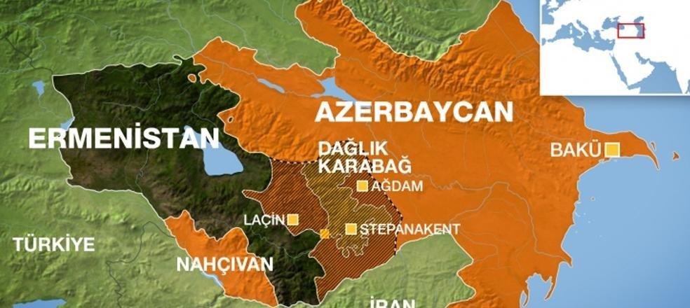 azerbaycan ermenistan sınırı
