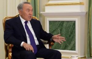 nazarbayev mülakat veriyor