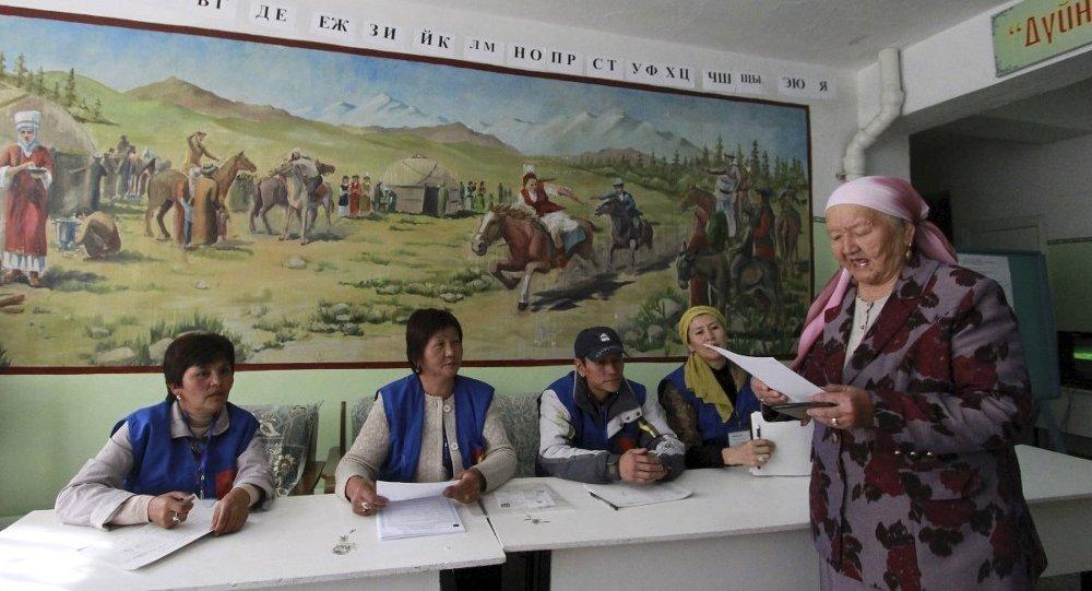 seçim kırgızistan