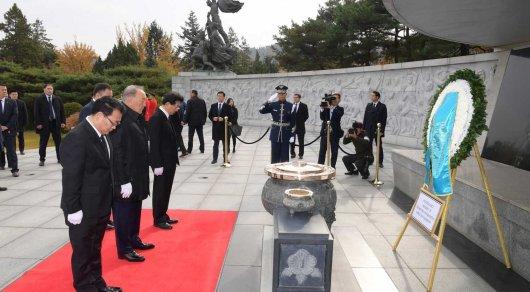 nazarbayev seulde