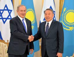 nazarbayev ve netanyahu
